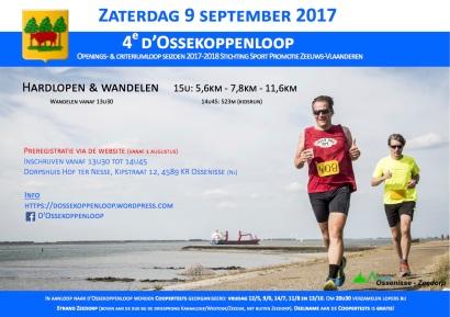 Affiche d'Ossekoppenloop 2017